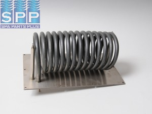1563-05 - Heater Element, 1.0/4KW for Ramco & D-1, Plate 6.25 Inch x11 Inch - 1563-05