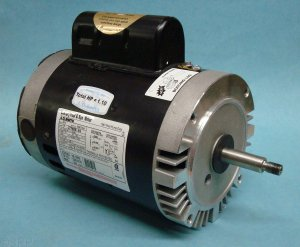 177058 - Pump Motor,AOSMITH,C-FACE Thrd,56J,2Sp,.75Hp,115V,11.2/5.0A - 177058
