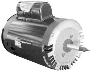 177060 - Pump Motor,AOSMITH,C-FACE Threaded,56J,2Sp,1HP,230V,6.3/2.3A - 177060