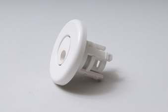 212-1030 - Jet Internal,WATERW,Mini,Whirly,2-1/2 Inch Face,Smooth,White - 212-1030