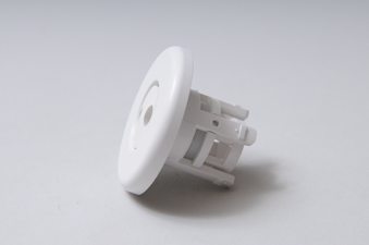 212-1040 - Jet Internal,WATERW,Mini,Pulsator,2-1/2 Inch Face,Smooth,White - 212-1040