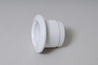 215-1050 - Jet Wall Fitting,WATERW,Adjustable Mini Jet,White - 215-1050