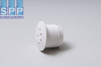 215-2180 - Air Injector Cap,WATERW,Top-Flo,1-1/8 Inch H,Threaded,White - 215-2180