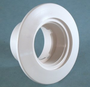 215-9890 - Return Wall Fitting,WATERW,1.5 Inch FPT x 2 Inch Insider,White - 215-9890