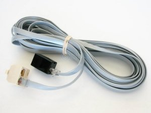22635 - Spa Side Extension Cable,BALBOA,25' Long,8 Conn Phone Plug - 22635