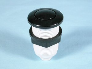 25083-000 - Air Button,CMP,15 Slim,1-3/8 Inch H,1-3/4 Inch F,2 Inch L,White - 25083-000