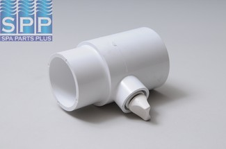 400-4260 - Fittings PVC,Tee Assy,WATERW,2 Inch S x 2 Inch Spg x 3/8 Inch FPT - 400-4260
