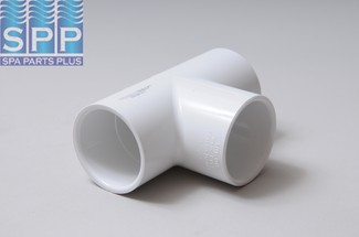 401-015 - Fittings PVC,Tee,LASCO,1-1/2 Inch S x 1-1/2S x 1-1/2 Inch S - 401-015
