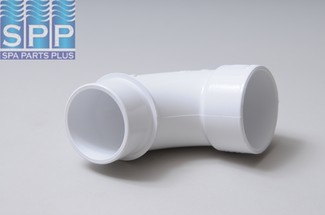 411-9120 - Fittings PVC,Sweep Ell,WATERW,2 Inch S x 2 Inch Spg - 411-9120