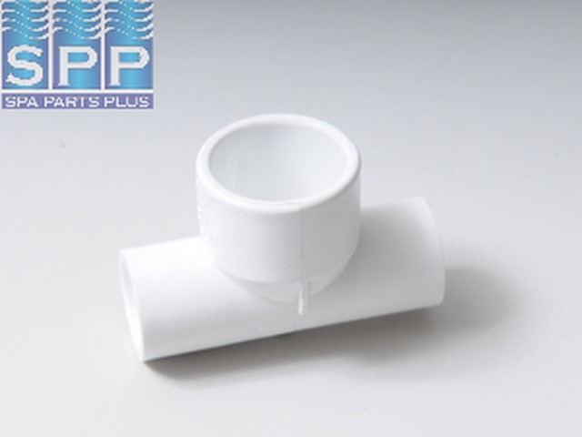 413-1980 - Fittings PVC,Reducer Tee,WATERW,1/2 Inch S x 1/2 Inch S x 1 Inch S - 413-1980