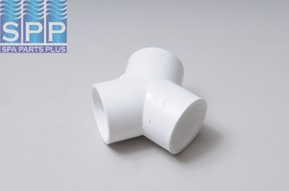 413-4160 - Fittings PVC,120 Degree Wye,WATERW,1 Inch S x 1 Inch S x 1 Inch S - 413-4160