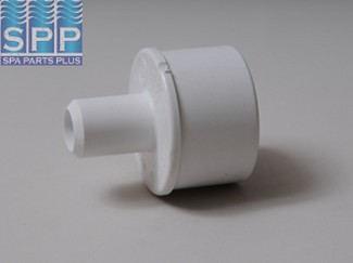 413-4360 - Fittings PVC,Barbed Adapter,WATERW,3/4 Inch SB x 1-1/2 Inch Spg - 413-4360