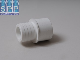 425-1010 - Fittings PVC,Barbed Adapter,WATERW,1 Inch RB x 3/4 Inch S/1 Inch Spg - 425-1010