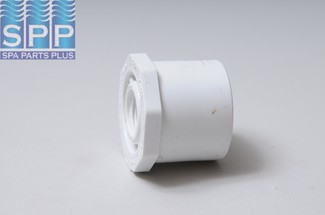 438-209 - Fittings PVC,Reducer Bushing,HUGHES,1-1/2 Inch Spg x 1/2 Inch FPT - 438-209