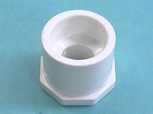 438-210 - Fittings PVC,Reducer,HUGHES,1-1/2 Inch S x 3/4 Inch FPT - 438-210
