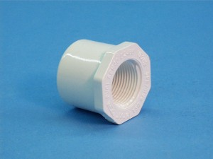 438-211 - Fittings PVC,Reducer Bushing,HUGHES,1-1/2 Inch S x 1 Inch FPT - 438-211