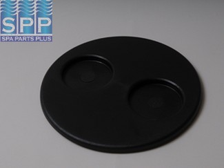 519-1081 - Filter Lid,WATERW,Top Load Filter,w/2 Cup Holders,Black - 519-1081