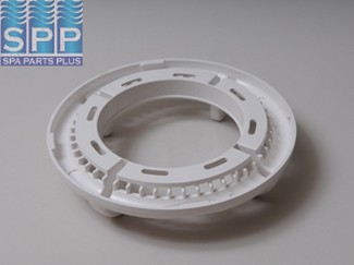 519-8050 - Filter Trim Ring,WATERW,Dyna-Flo II(Hi Volume)4 Scallop,Wht - 519-8050
