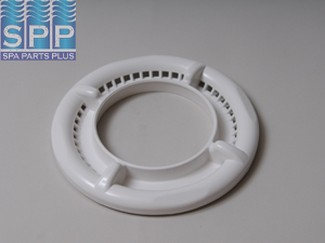 519-8070 - Filter Trim Ring,WATERW,Dyna-Flo II(Low Volume)4 Scallop,Wht - 519-8070