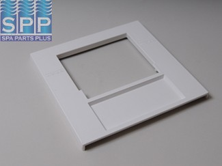 519-9010 - Filter Front Plate,WATERW,50/100 Sq Ft Skim Filter,White - 519-9010