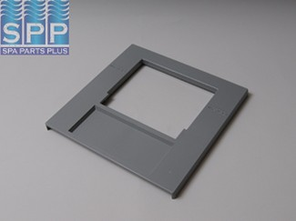 519-9017 - Filter Front Plate,WATERW,50/100 Sq Ft Skim Filter,Gray - 519-9017