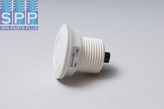 6438-WHT - Air Button,HERGA,Mini Bellows - 6438-WHT