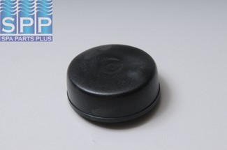 6439-BLK - Air Button,HERGA,Mushroom Flush Mt,2-1/4 Inch F,Black - 6439-BLK