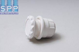 660-3400 - Air Control,WATERW,Gunite Inch A Inch Scallop,1-1/2 Inch Plumb,White - 660-3400