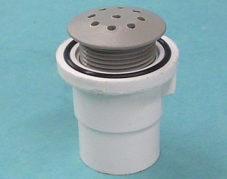 670-2337 - Air Injector,WATERW,Straight Body,1-1/8 Inch H,1 Inch Spg,Gray - 670-2337