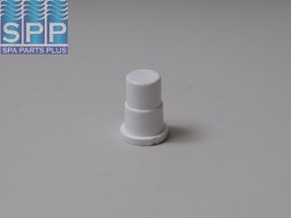 715-9860 - Fittings PVC,Barbed Plug,WATERW,3/4 Inch B,White - 715-9860