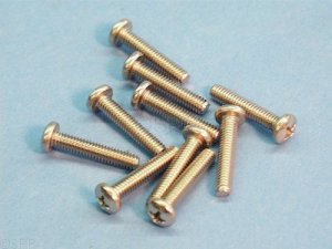 8C150MXPS - Screw,Jet Outer Canister,ITT,Thera'ssage,8-32x1-1/2 Inch (10) Pk - 8C150MXPS