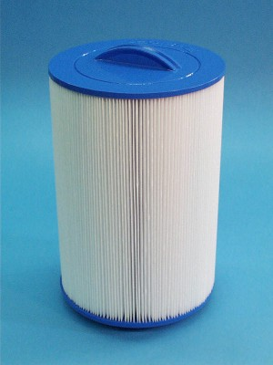 8CH-66 - Filter Cartridge,UNICEL,60 Sq Ft,8 Inch OD x 9-1/4 Inch Long - 8CH-66 - Height: 9-1/4 - Diameter: 8 - TopID: Handle - BottomID: 2 MPT
