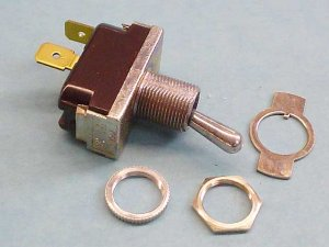 90-0003 - Toggle Switch, SPST - 90-0003