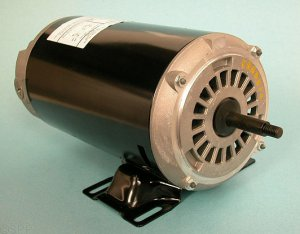 AGH15FL2CS - Pump Motor,EMERSON,Thru-Bolt,48YFr,2Spd,1.5HP,230V,8.4/2.4A - AGH15FL2CS