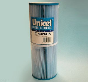 C-4326RA - Filter Cartridge,UNICEL,25 Sq Ft,4-15/16 Inch OD x 13-5/16 Inch Long - C-4326RA