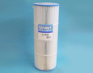 C-7652 - Filter Cartridge,UNICEL,50 Sq Ft,7 Inch OD x 19-3/8 Inch Long - C-7652