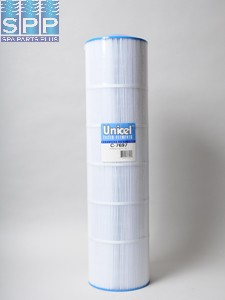 C-7697 - Filter Cartridge,UNICEL,155 Sq Ft,7-1/2 Inch OD x 29-1/16 Inch Long - C-7697