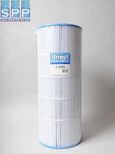 C-9403 - Filter Cartridge,UNICEL,150 Sq Ft,9-15/16 Inch OD x 25-5/16 Inch Long - C-9403
