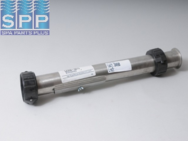 C2950-0075 - Heater Assy,Spa Bldrs,9.5kw Dual Element,2 Inch x19 Inch ,L/ Tail Pcs - C2950-0075