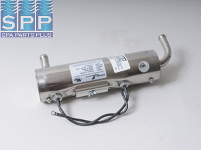 E2400-0127ET - Heater Assy,DM/Vita,Lo-Flo,SS,4kW,240V,3/4 Inch OD Barbed In/Out - E2400-0127ET