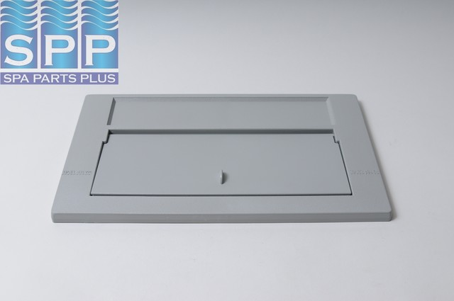 PH-550-6617 - Front Plate Weir Assy, 100 Sq Ft, Gray - PH-550-6617