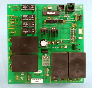 SD6600-287 - PCB,SUNDANCE,LX15(Rev 5.03 +)w/4 Big Relays(2000 +)2 Pump - SD6600-287