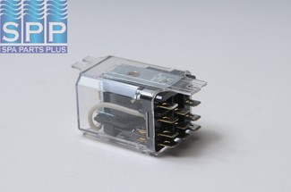 W389ACX-14 - Relay,Ice Cube,DALIS,120Vac Coil,20Amp,3PDT,11 Terminals - W389ACX-14