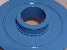 Male Slip Fitting with Molded O-ring