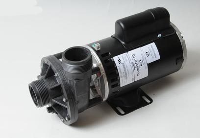 02110000 - Pump Assy, AQUAFLO FMHP, Side Discharge, 2 Speed, 1HP, 120V, 48 Frame, 1-1/2 Inch MBT In/Out, No Unions, No Cord (Has Capacitor Mounted On Top) - 02110000
