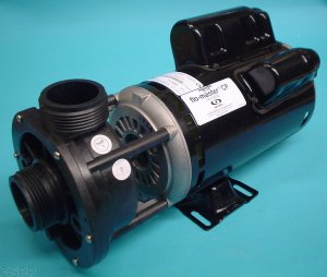 02620000 - Pump Assy,AQUAFLO FMCP, Center Discharge, 2 HP, 2 Speed, 230V, 48 Frame,1-1/2 Inch MBT In/Out, No Unions, No Cord - 02620000