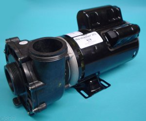 06120000 - Pump Assy, AQUAFLO FMXP2, Side Discharge, 2HP, 2 Speed, 230v, 48 Frame, 8.6/2.8Amp, 2 Inch MBT In/Out, No Cord, No Unions (3HP Uprated) - 06120000