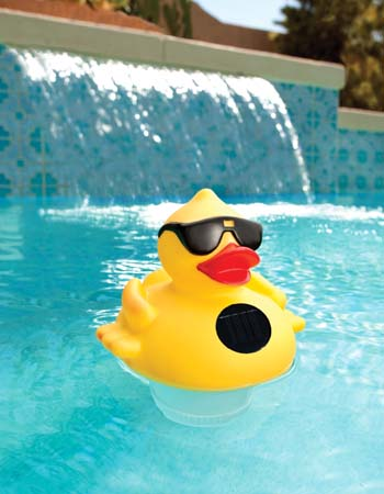 NA3394 - Derby Duck Solar Light Up Floating Pool Chlorinator***OUT OF STOCK FOR SEASON*** - NA3394