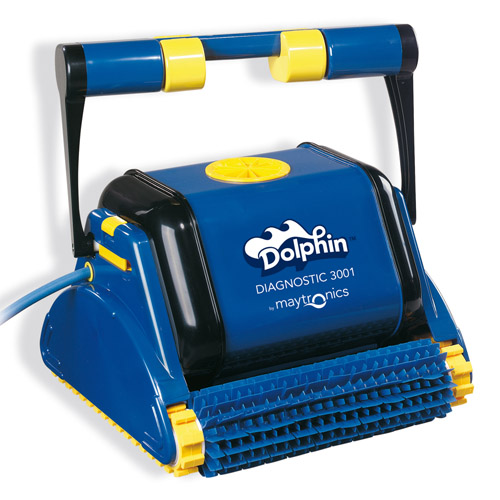 Automatic Pool Vacuum Dolphin 3001 W Caddy Robotic