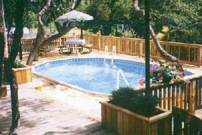 Cantar Removable In Ground Swimming Pool Fencing by GLI Pool Products